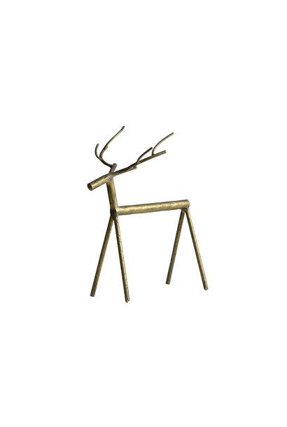 Rudolph metal deer