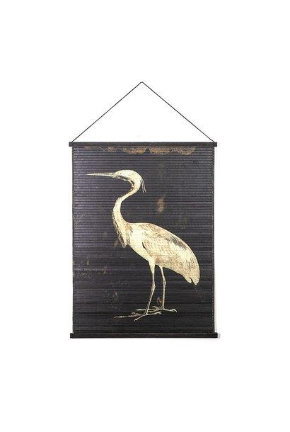 Wand hanger vogel large