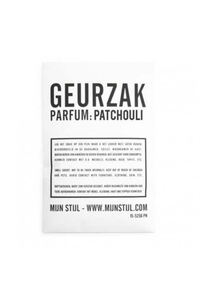 Geurzak patcholi