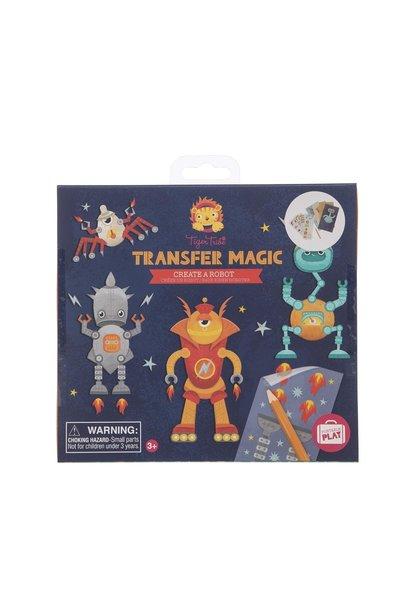 transfer a robot