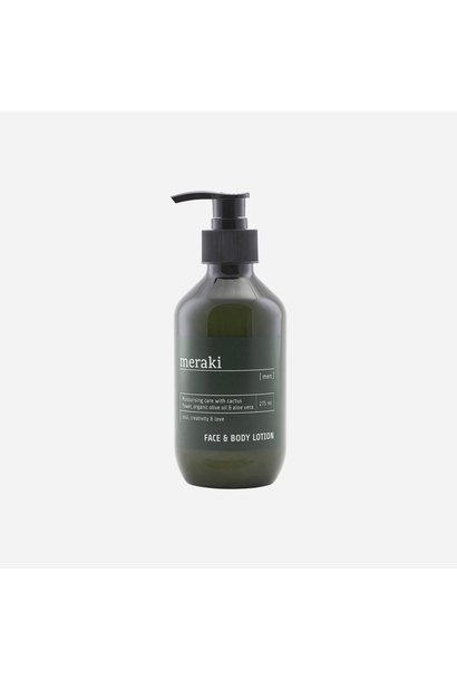 Face & body lotion, Men