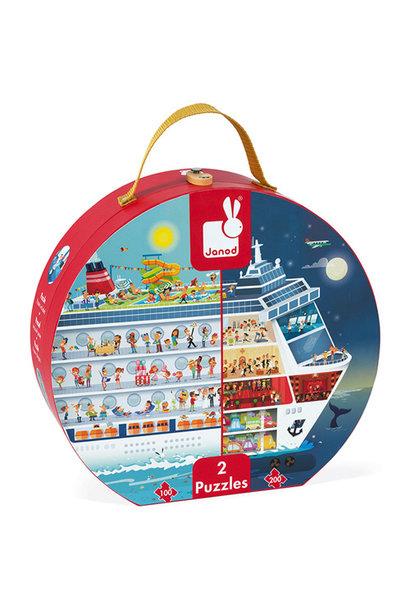 Cruiseschip puzzel