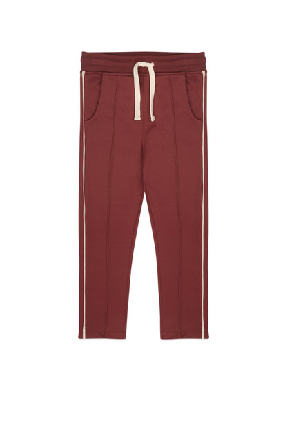 Trackpants met piping
