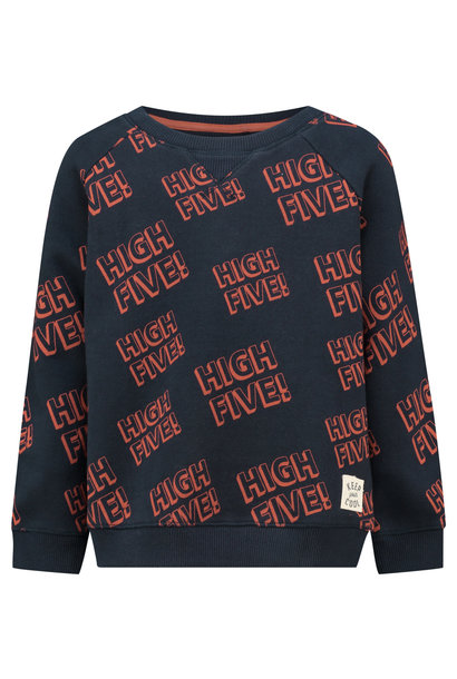 Sweater high five