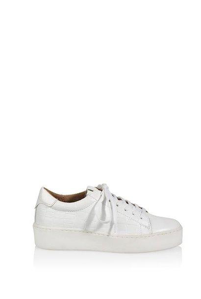 Sneaker wit croco