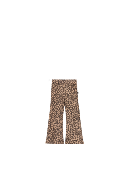 Flared pants leopard