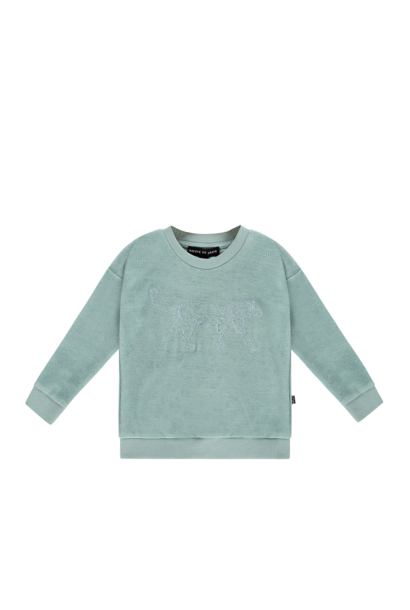 Crewneck sweater jade