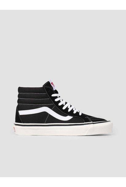 UA sk8-hi black/white dames