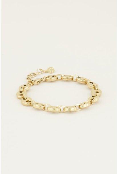 Moments bracelet bold goud