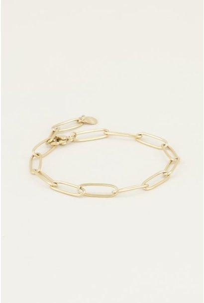 Moments bracelet goud