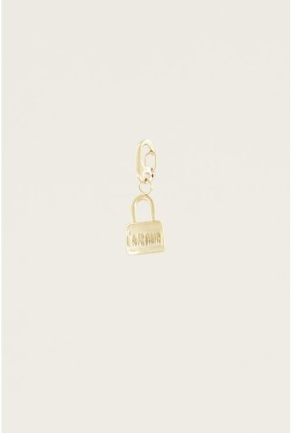 Moments charm love lock goud