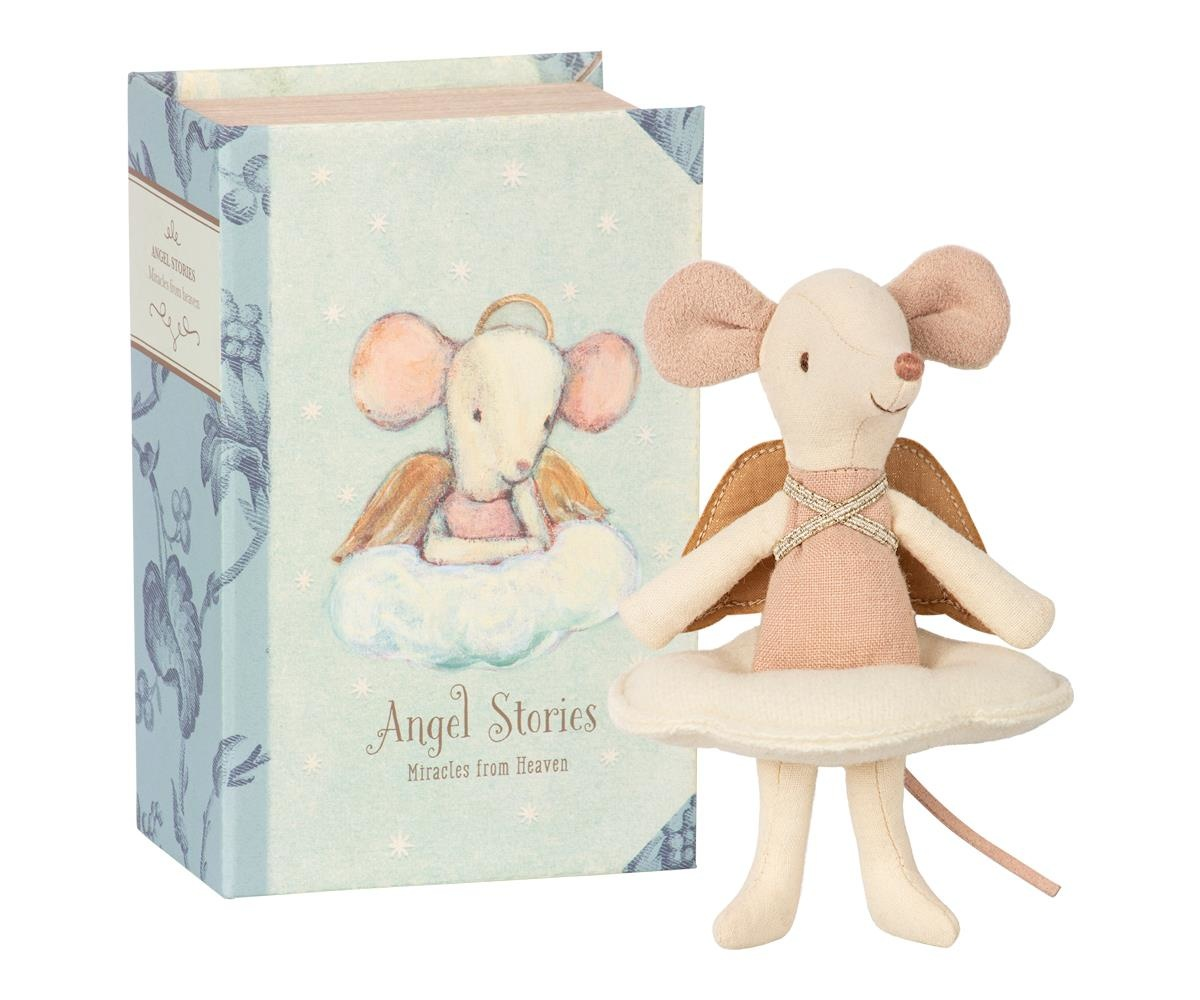 Engel muis, grote zus in boek-1