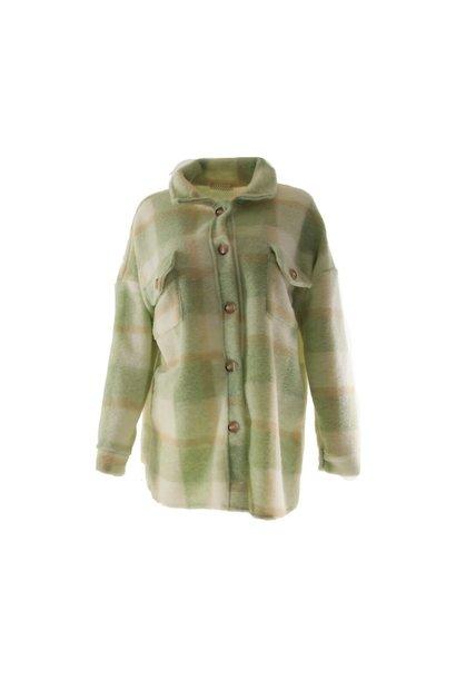 Jacket ruit groen