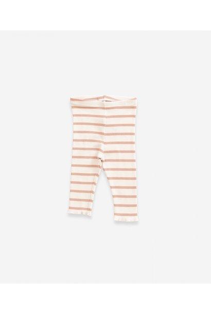 Striped Rib Legging