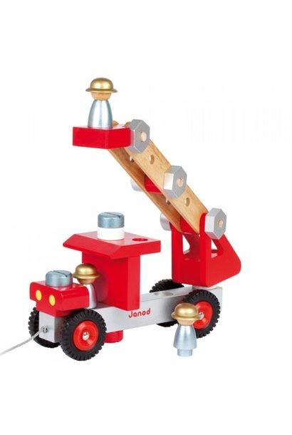 DIY brandweerwagen