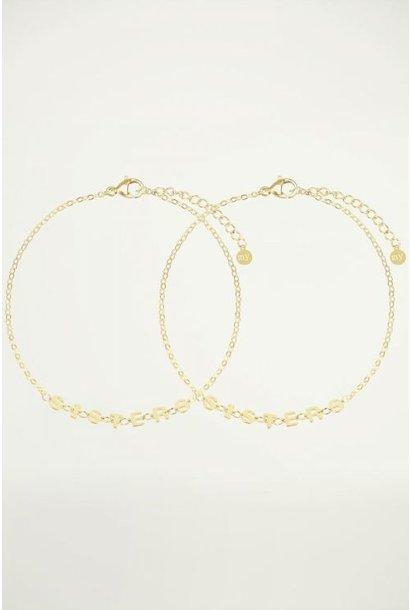Armband sisters goud