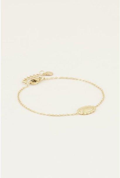 Moments bracelet vintage roze goud