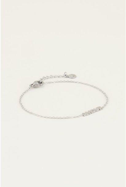 Moments bracelet amour zilver