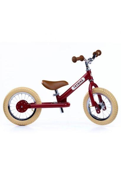 Tweewieler vintage rood