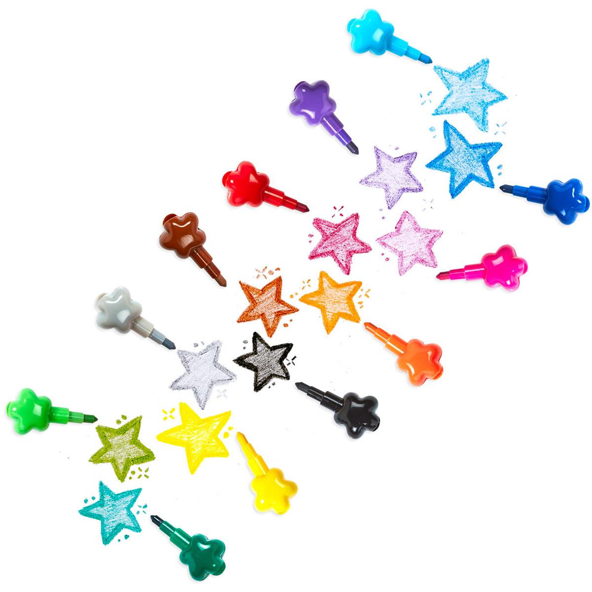 Stack Of Stars Stacking Crayons-2