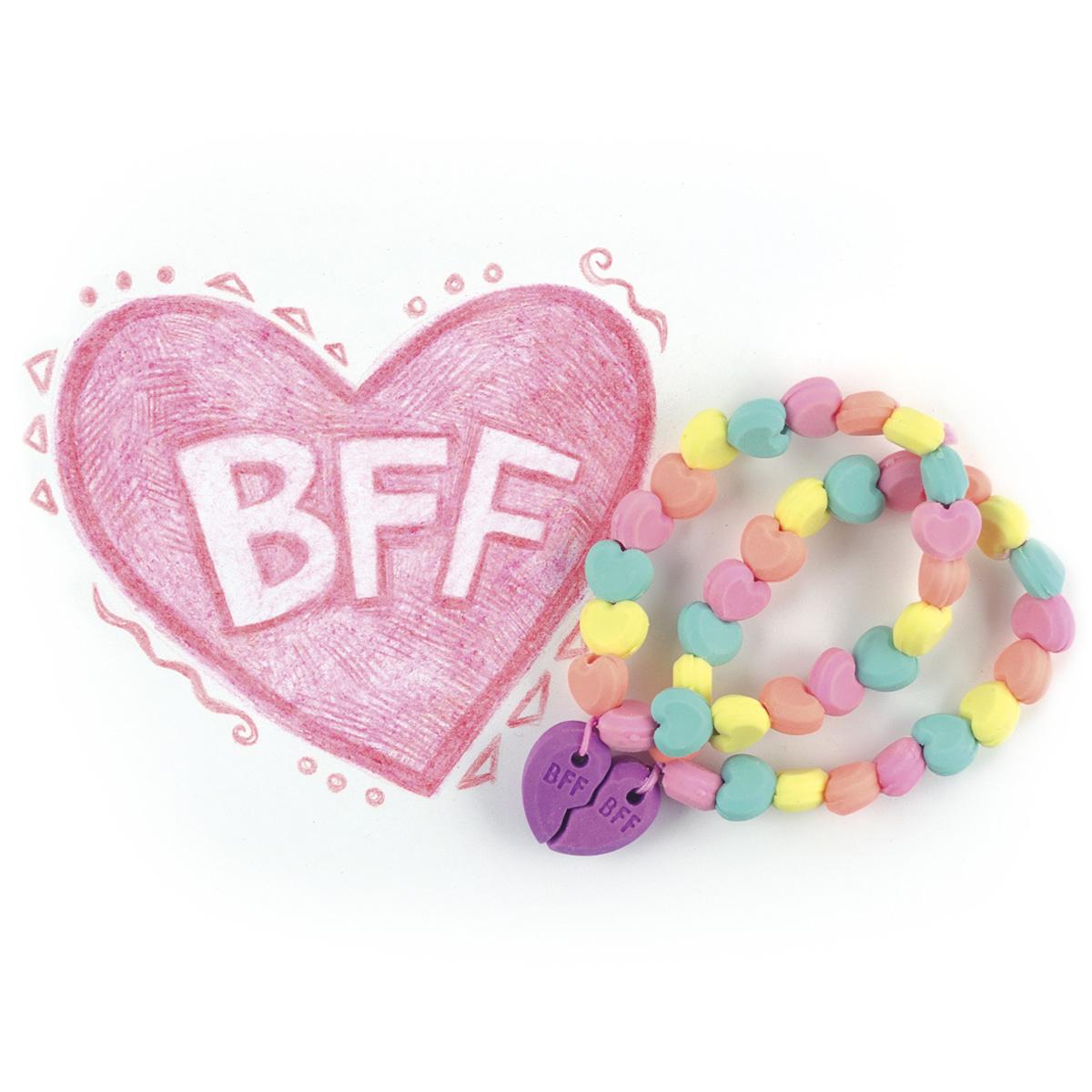 Gummen met geur BFF-armbandje-2
