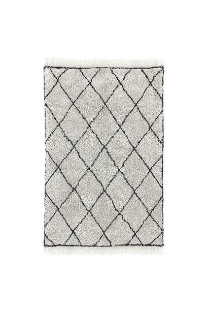 Cotton diamond rug (120x180)