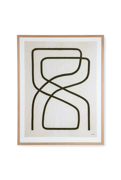 Art frame by artist benjamin Ewing