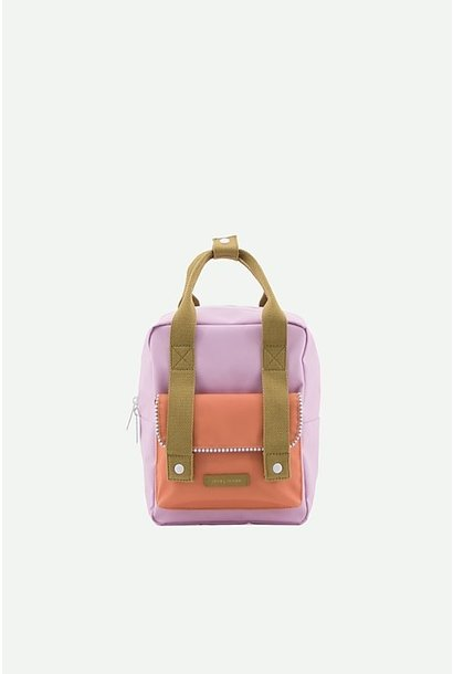 Backpack envelope Roze-oranje