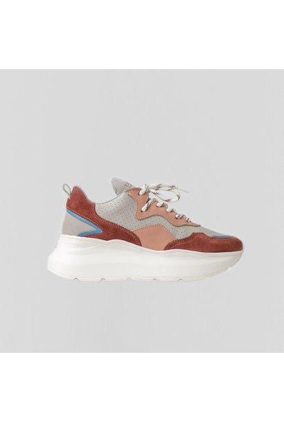 Sneaker Grayson Deep Rust/Pink