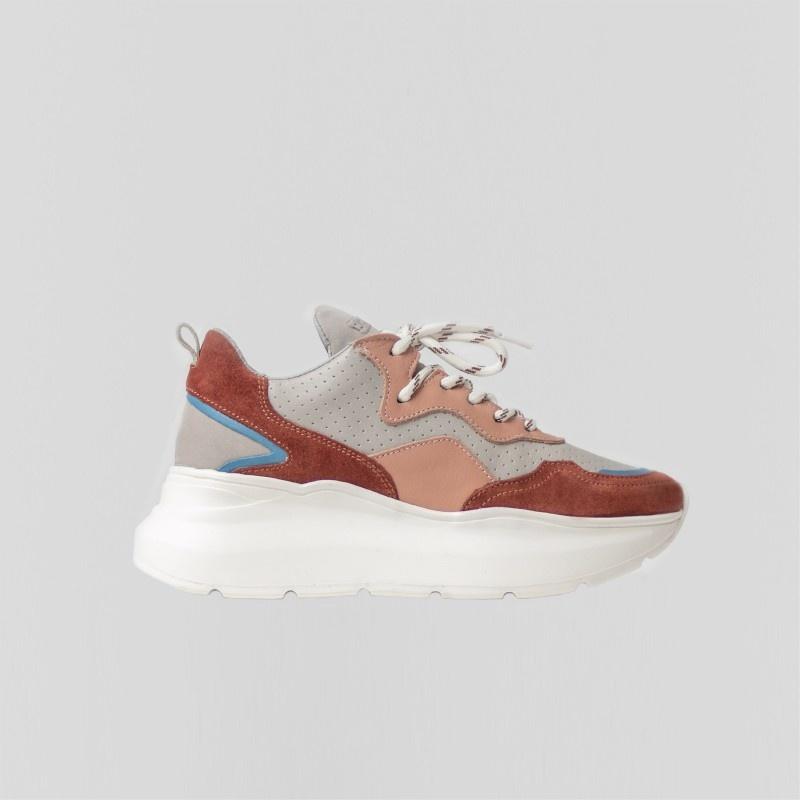 Sneaker Grayson Deep Rust/Pink-1