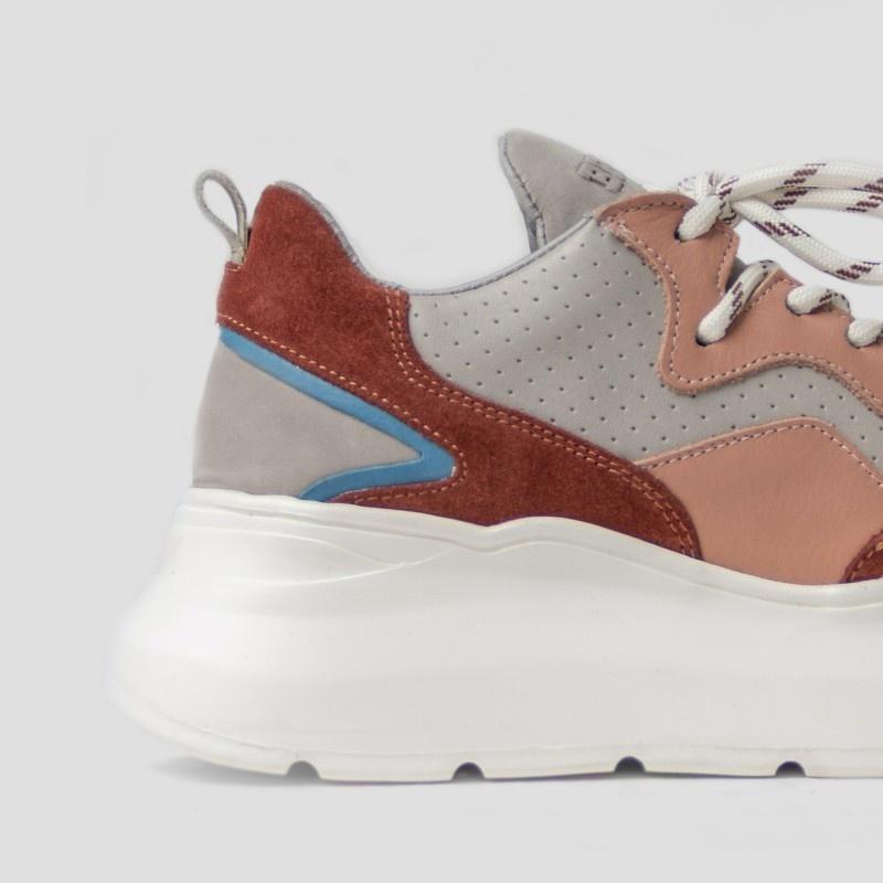 Sneaker Grayson Deep Rust/Pink-3