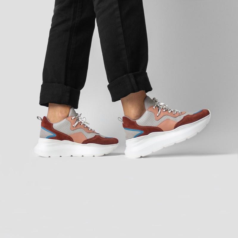 Sneaker Grayson Deep Rust/Pink-2