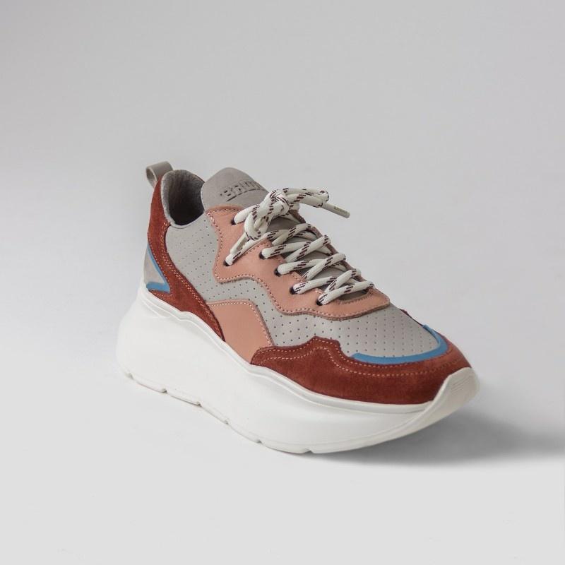 Sneaker Grayson Deep Rust/Pink-4