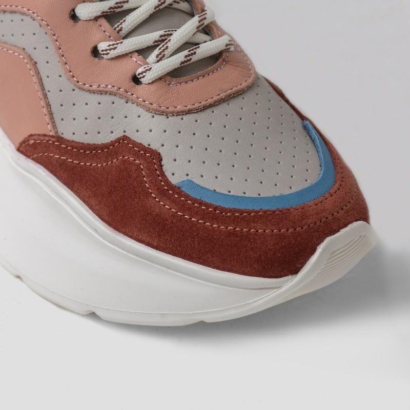 Sneaker Grayson Deep Rust/Pink-5