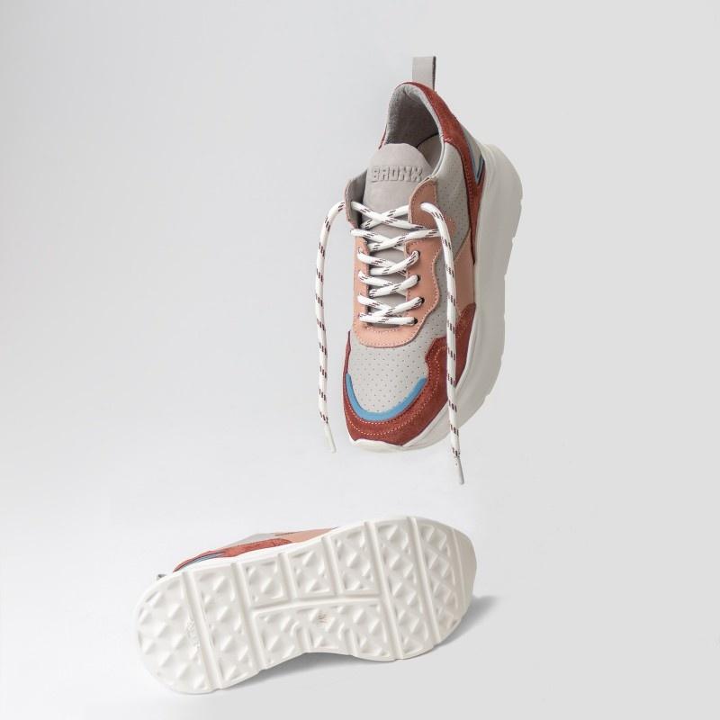 Sneaker Grayson Deep Rust/Pink-8