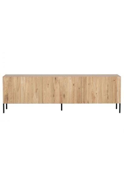 Gravure tv meubel eiken naturel
