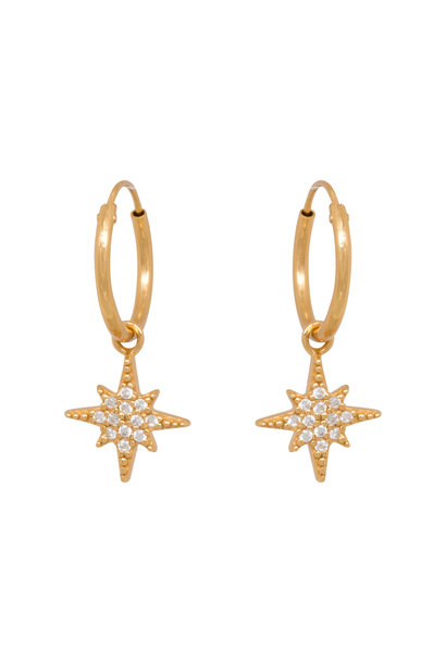 North star zirconia hoops