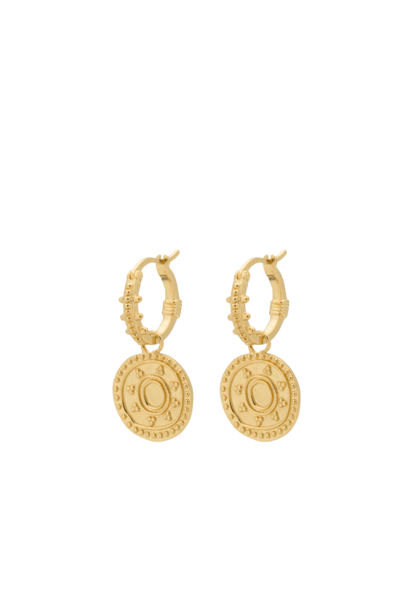 Cleopatra ring earrings silver goldplated