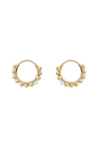 Cosmic dust ring earrings silver goldplated
