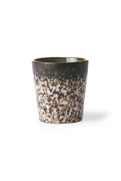 Ceramic 70's mug: mud