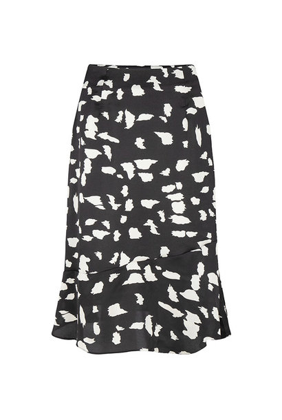 Skirt Maya Black white