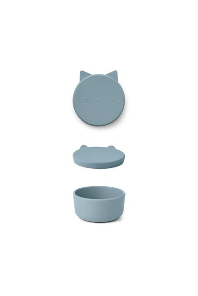 Cornelius snackbox Cat sea blue