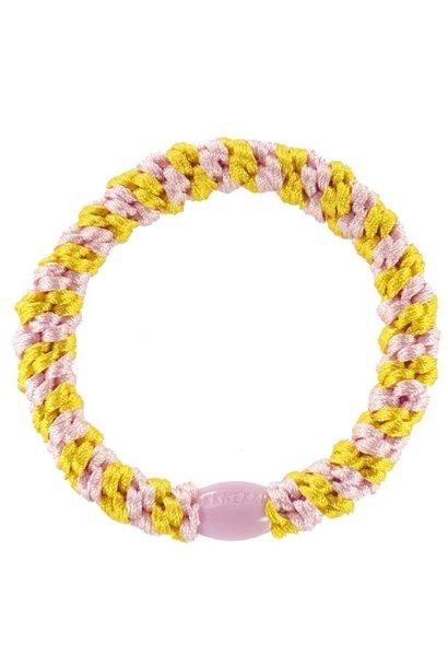 Kknekki Yellow-Pink stripe