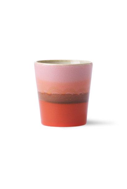 Ceramic 70's mug: mars
