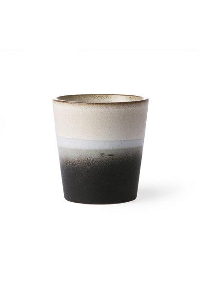 ceramic 70's mug: rock