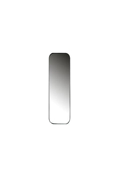 Spiegel metaal zwart 170x40 cm