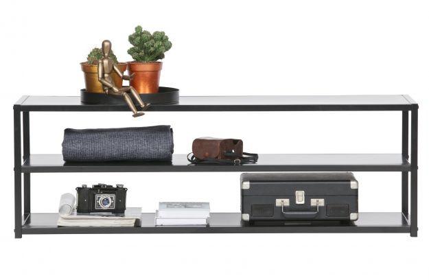 tv meubel teun metaal zwart-2