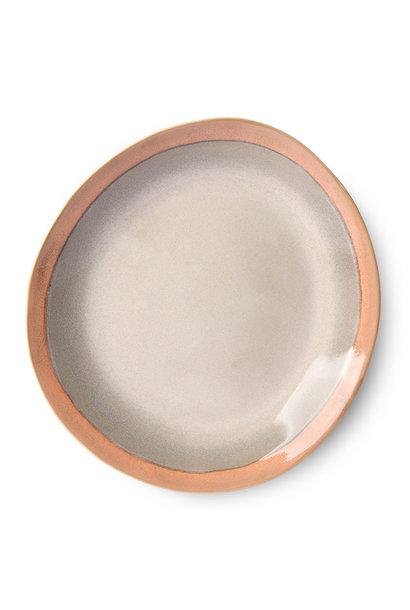 Dinner plate earth, set of 2