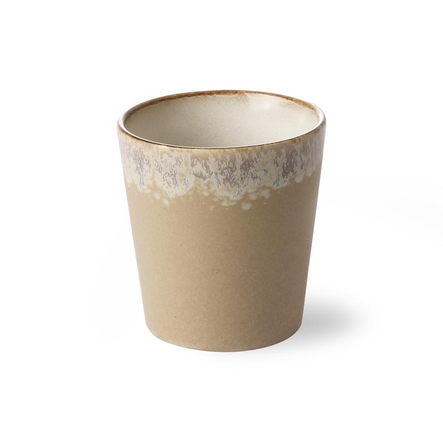 ceramic 70's mug: Bark-2