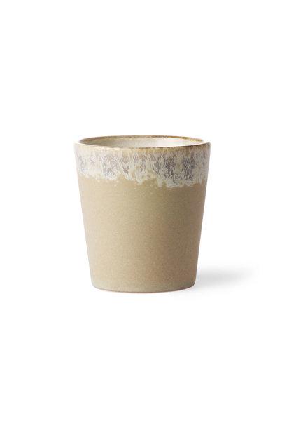 ceramic 70's mug: Bark